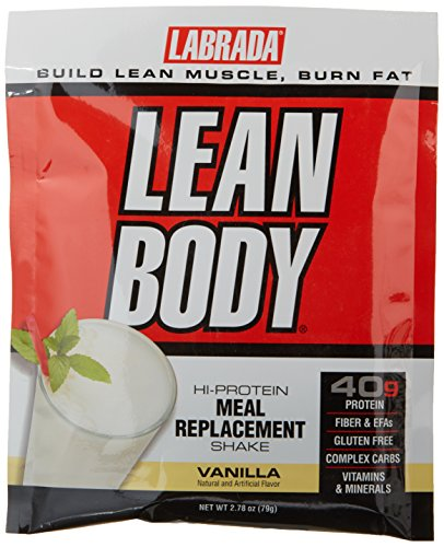 Labrada Nutrition Lean Body Meal Replacement Shake, Vanilla