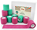 Celley 12 Pack Bandage Wrap | Self Adherent Cohesive Vet...