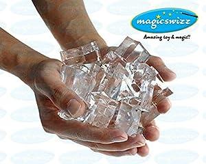 Magicswizz brand Amazing toy Magic Trick Ice From Water Magic Close-up Magic Props Amazing Visual Magic Trick