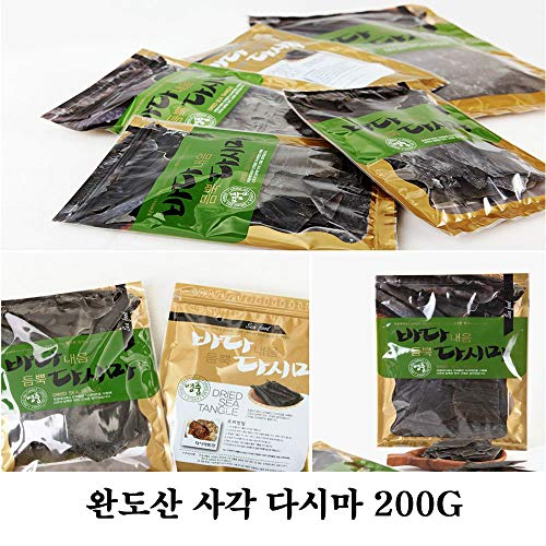 Dried Sea Tangle Square Kelp 200g 사각다시마 by Woorim