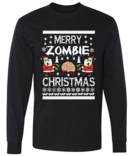 Merry Zombie Ugly Christmas T-Shirt