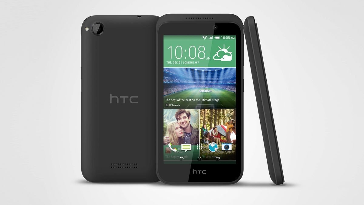 Amazon.com: HTC Desire 320 Smart Phone ** boxed ** Black / Meta Gray * 4.5  inch LCD, 1.3GHz, 1GB, 4GB Android 4.4.2 Unlocked KitKat - For AT&T, ...