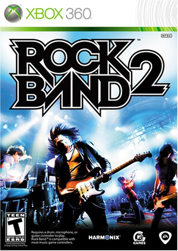 Rock Band 2 - Xbox 360 (Game only) - Rock Band Drums 360