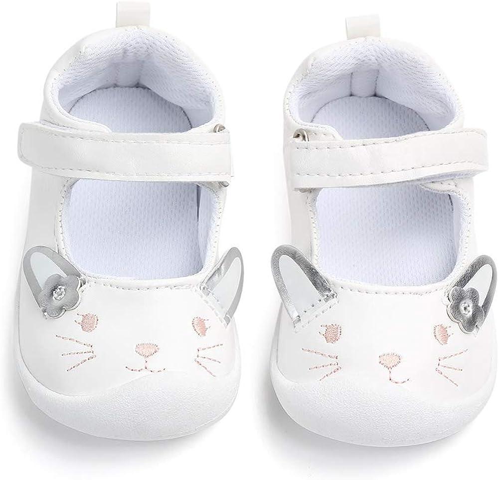 LACOFIA Ballerine b/éb/é Fille Chaussure antid/érapants Premier Pas pour b/éb/és