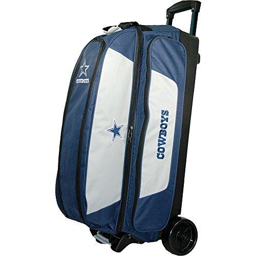 KR Strikeforce Dallas Cowboys Triple Roller Bowling Bag, Multicolor by KR