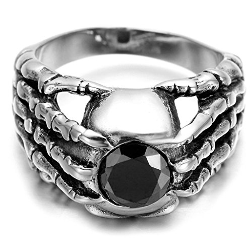 stainless-steel-ring-for-men-claw-ring-gothic-silver-band-2025mm-epinki