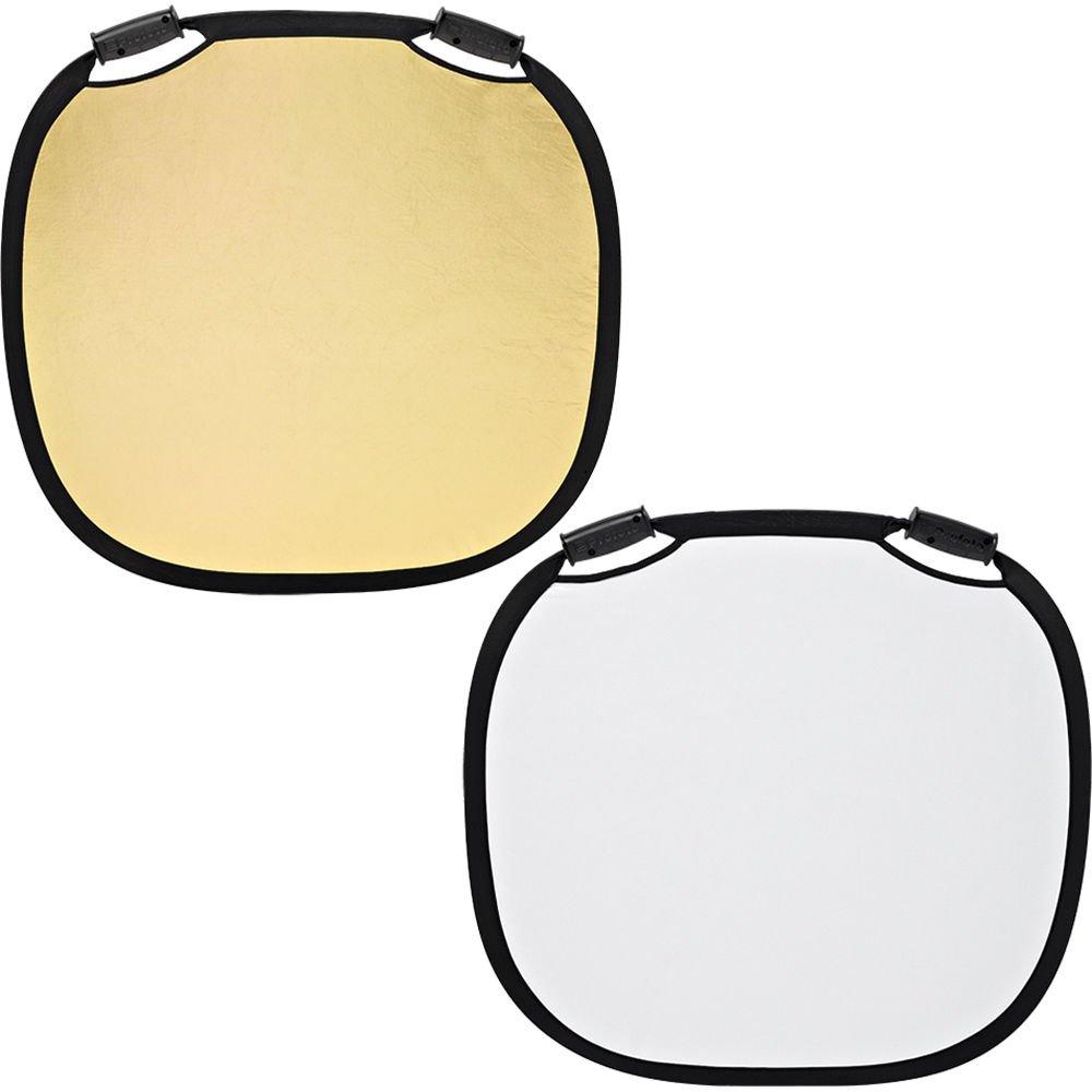 Profoto 31.49'' / 80cm Medium Collapsible Reflector, Gold/White