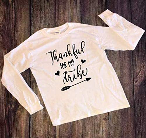 Amazon.com: Thankful For My Tribe Shirt: Handmade
