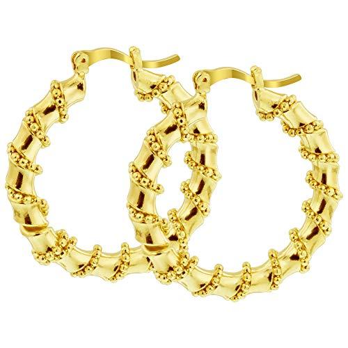 gem avenue earrings gold - 5