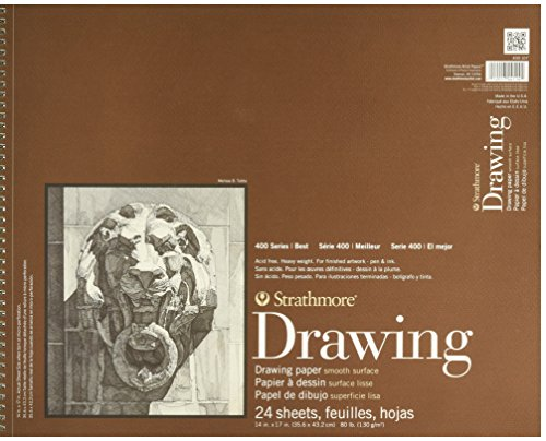 Strathmore 400 Series Drawing, Smooth Surface, 14