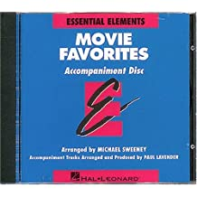 Essential Elements Movie Favorites - Accompaniment CD