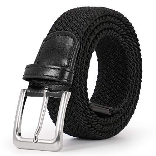 - Braided Elastic Belt for Men/Women/Junior Woven Canvas Stretch Belts by JASGOOD