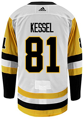 sports shoes a390f 138ce Amazon.com   Phil Kessel Pittsburgh Penguins Adidas Authentic Away NHL  Hockey Jersey   Sports   Outdoors