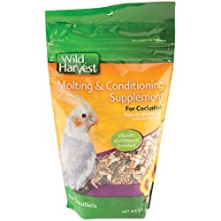 Molting & Conditioning Supplement for Cockatiels by Wild Harvest