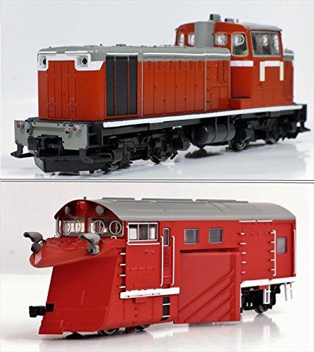 トラムウエイ<TW-DD16-300LR>(HO)国鉄DD16-300 機関車M付+前頭車2両 B00LOSXZEA