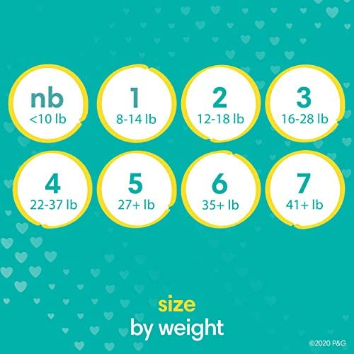 51hBRALXnTL. AC Baby Diapers Newborn/Size 1 (8-14 lb), 198 Count - Pampers Swaddlers, ONE MONTH SUPPLY (Packaging and Prints on Diapers May Vary)    Wrap your baby in our softest comfort with Pampers Swaddlers diapers. Designed to keep skin dry and healthy, Pampers Swaddlers are the only diapers with a BreatheFree Liner that wicks away wetness and mess, allowing your baby's skin to breathe. Specially designed with your baby's comfort in mind, our Soft Flexi-Sides provide a soft cushiony stretch for a secure and comfortable fit. Plus, our Pampers Wetness Indicator lets you know when your baby might need a change, to help keep baby's skin dry and healthy. For protection that's gentle on your baby's skin, Pampers Swaddlers is hypoallergenic and free of parabens and latex.* And when your baby is new to the world, our Umbilical Cord Notch** provides a perfectly contoured fit that protects their delicate belly. That's why Pampers Swaddlers are the #1 Choice of U.S. Hospitals, Nurses and Parents†. For trusted protection, trust Pampers, the #1 U.S. Pediatrician Recommended Brand. *Natural rubber. **Sizes N–2. †Hospitals: based on hospital sales data; nurses: vs. other hospital brands, among those with a preference; parents: based on retail sales.