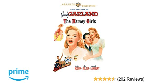Amazon com: Harvey Girls, The (1945): Judy Garland, John