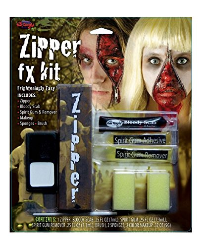 [Zipper Face FX Kits - Makeup for the Unafraid] (Zipper Fx Kit)
