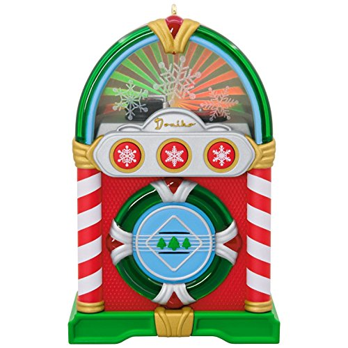 Jolly Jukebox Musical Ornament With Light Hobbies & Interests -