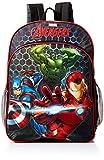 Marvel Boys' Avengers Light up Backpack, Gray