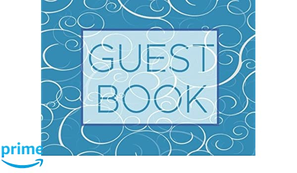Guest Book: Blank Lined Guest Book For Any Occasion V34 ...