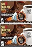 San Francisco Bay Chocolate Almond coffee 24 ONE CUPS for Keurig K-Cup Brewers