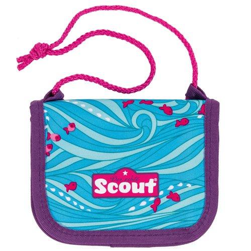 Scout 25190070300 Fahrausweishülle, 13 cm, Blau