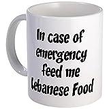 CafePress %2D Feed Me Lebanese Food Mug