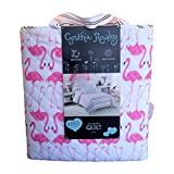 "Cynthia Rowley Quilt in a Bag Set (Pink Flamingos) Full/Queen 88"" x 92"""