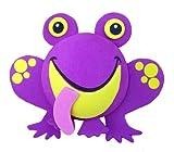 Tenna Tops - Purple Frog Car Antenna Topper - Antenna Ball - Rear View Mirror Dangler - Auto Accessory