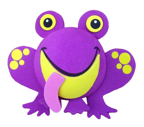 Tenna Tops - Purple Frog Car Antenna Topper - Antenna Ball - Rear View Mirror Dangler - Auto Accessory Tenna Tops® TT083