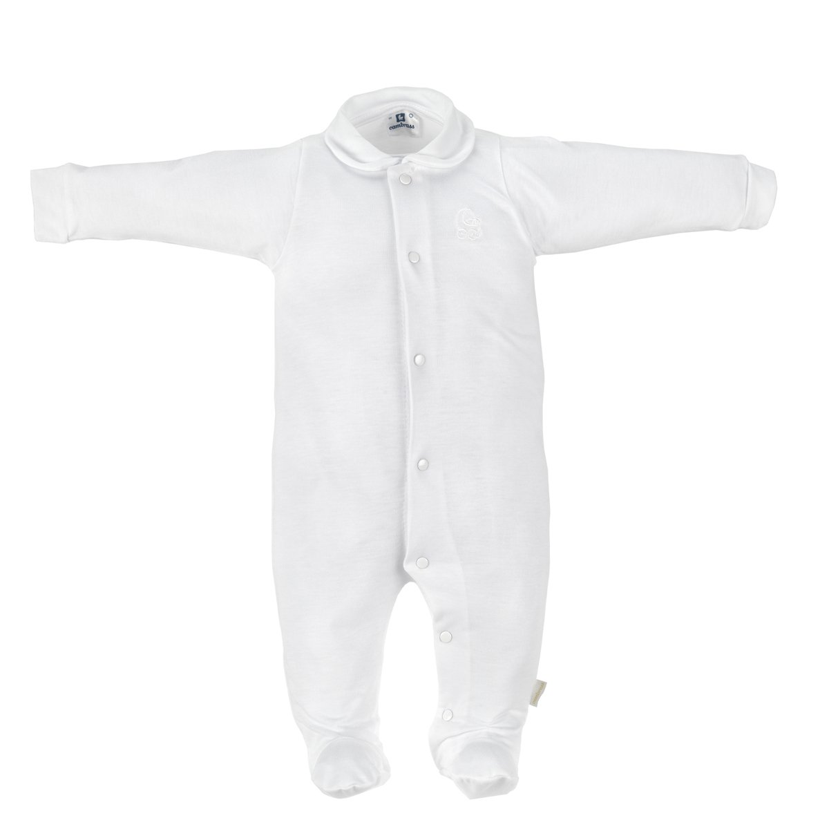Cambrass Unisex Baby 159.1 Long Sleeve Bodysuit 15170_p