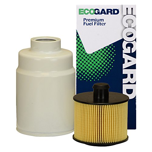 ECOGARD XF10214 Diesel Fuel Filter - Premium Replacement Fits Chevrolet Express 3500, Express 2500, Express 4500 / GMC Savana 3500, Savana 2500, Savana 4500