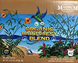 Organic Rainforest Blend Coffee | 42 K-Cups | 100% High Mountain Arabica Coffee |