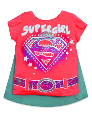 Supergirl Shirt Cape Dazzling Star product image
