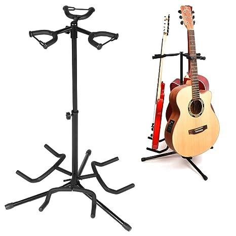 Soporte universal para guitarra, portátil, negro, plegable ...