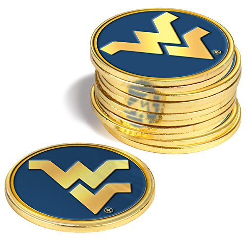 NCAA West Virginia Mountaineers - 12 Pack Ball Markers