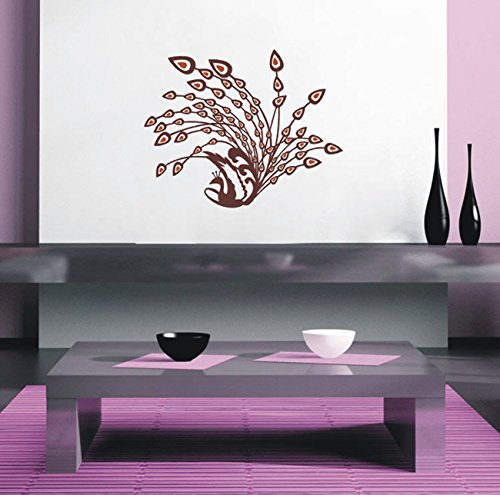Cute Animals in The Jungle Pop Decors PT-0165-Vc Beautiful Wall Decal