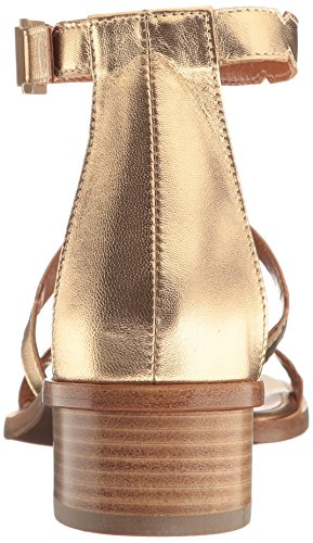 Aquatalia by Marvin K. Women's Risa Metallic Gladiator Sandal Gold v3CSvc7