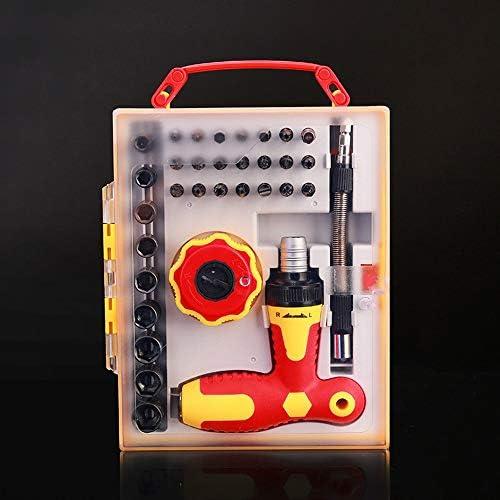 LilyAngel 1で34インシュレーションバッチ電気技師スクリュードライバーコンビネーションセット携帯電話分解ツールセット