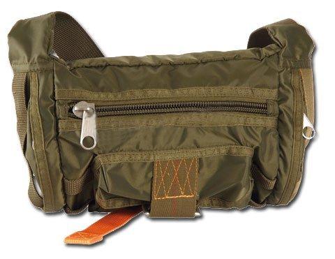 G8DS® Hüfttasche Bauchtasche Gürteltasche Oliv und verstellbarem Bauchgurt 13507001