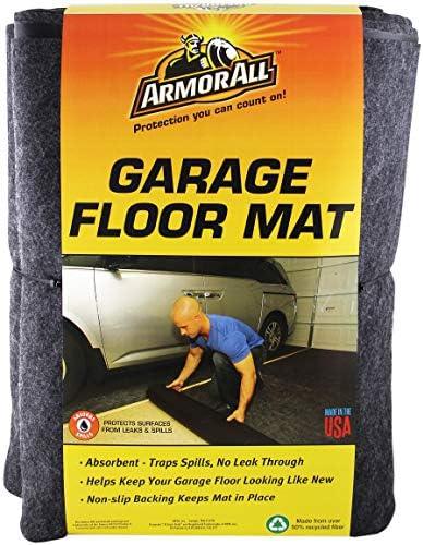 Armor All AAGFMC17 Charcoal 17′ x 7'4″ Garage Floor Mat