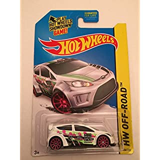 2014 Hot Wheels Treasure Hunt Hw Off-Road - '12 Ford Fiesta (White)