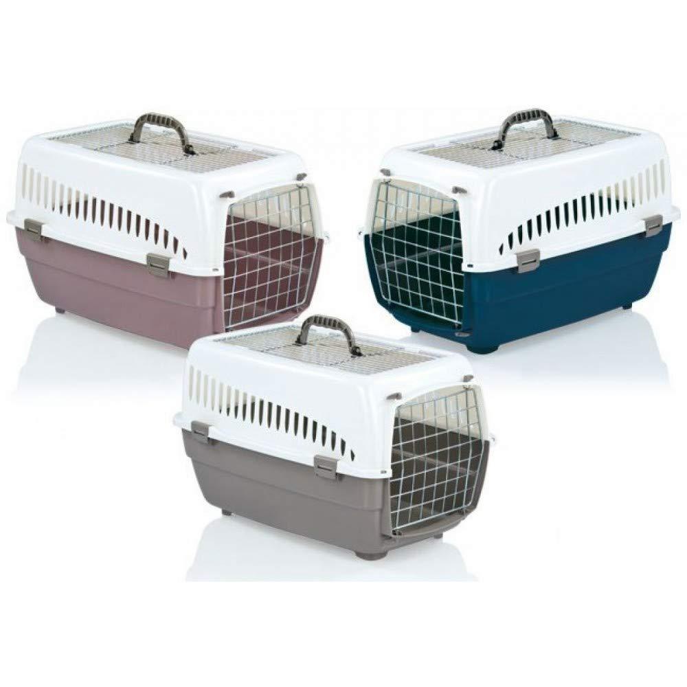 TrAdE Shop Traesio Traesio Traesio - Trasportino in plastica Voyager Open per Cani di Piccola Taglia e Gatti 5b9a68