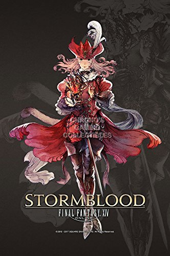 "CGC Huge Poster GLOSSY FINISH - Final Fantasy XIV Online Stormblood PS4 XBOX ONE - EXT748 (24"" x 36"" (61cm x 91.5cm))"