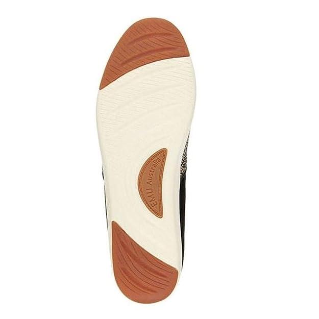 cf0aaf89f895 Emu Australia Brunswick Fur Spot Womens - Black White - W11374 4   Amazon.co.uk  Shoes   Bags