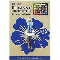 Colonial Needle Roxanne intermedios Agujas-Size 12, 50 unidades