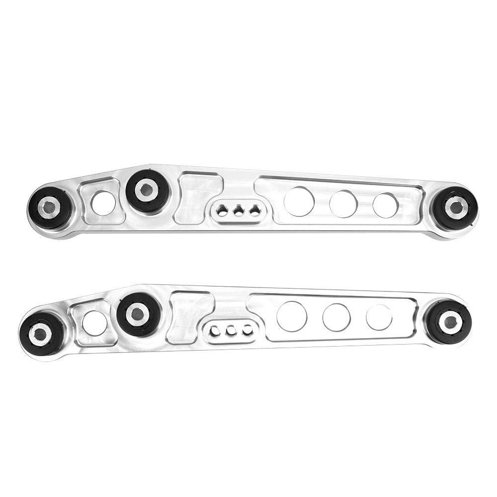 Suuonee Brazo de control inferior trasero Black 3 colores Aleaci/ón de aluminio Kit de refuerzo de bastidor auxiliar de brazos de control inferior trasero para 92-95
