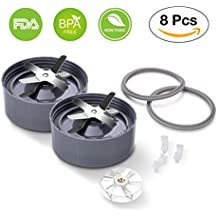 Nutribullet 600w-900w Replacement Parts -Premium Nutribullet Blade & Gasket & Shock Pad & Gears NutriBullet 8-piece High-Speed Blender/Mixer System Replacement Parts & Accessories