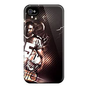 Durable Defender Cases For Iphone 6 Tpu Covers(new Orleans Saints)